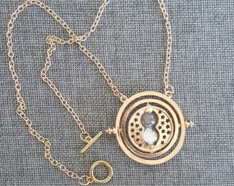 MISPRINT CLEARANCE Time Turner Necklace