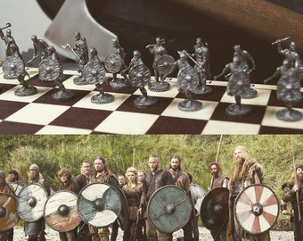 Vikings Chess, Board Game with figures from Vikings series