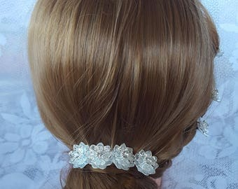 Fashion Crystal Hairpins, Bridal, Wedding, Hair Accessories, - Crystal Hair Pins,Hair Pins