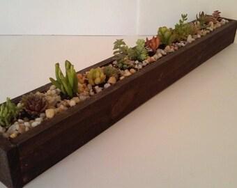 30 inch centerpiece succulent planter SALE