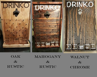 Drinko Plinko Bottle Opener Game