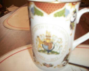 Queen Elizabeth 2nd Jubilee Celebration bone china mug