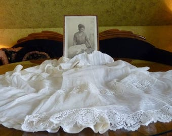 Christening Gown with original Photo, ca. 1923