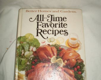 Vintage Better Homes and Gardens All-Time Favorite Recipes, 1979