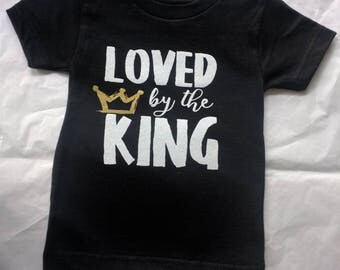 Loved by the KING shirt