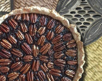 Pecan Pie Art Print, Kitchen Art Print, Dining room Art Print, Cafe Art Print, Food Art Print