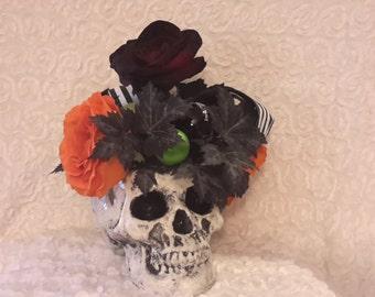 Halloween Skull Bouquet