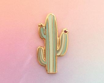 Lil' Saguaro hard enamel pin