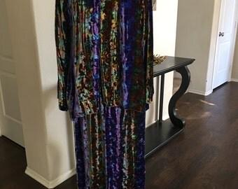 Velvet Dress Set