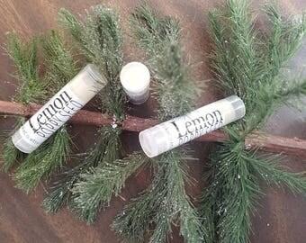 Lemon Poppyseed  Handmade Lip Balm