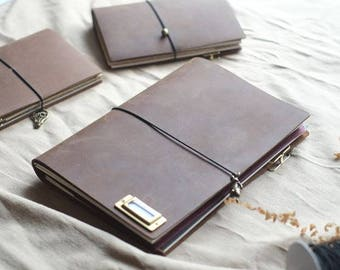 Blue Whale Traveler's Notebook 「A5 Size」