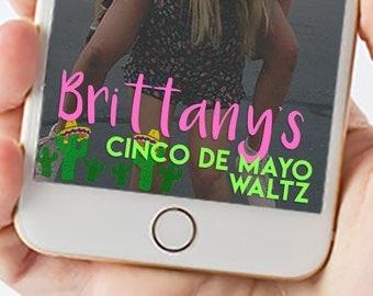 Fiesta 21st Birthday Snapchat Filter Theme 1059