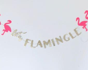 Lets flamingle banner