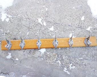 Plank Coat Rack Etsy