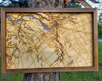 """Ottawa Map - 11""""x17"""""""