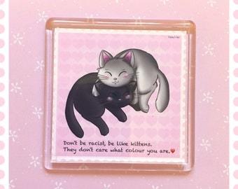 Kawaii magnet , fridge magnet , cute magnet , animal magnet