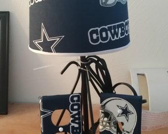 Dallas Cowboys NFL lamp set.