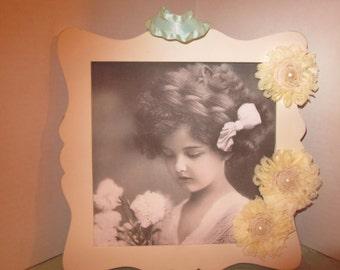 Vintage Charming Girl