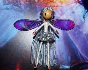 Bendy Doll- Jewel Snow Fairy