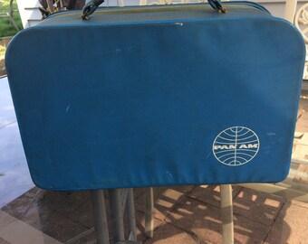 Vintage Pan Am suitcase