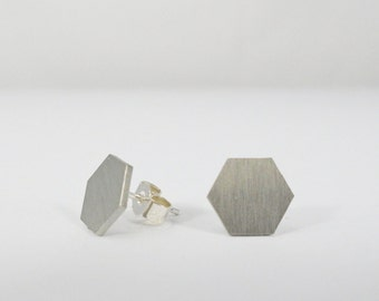 Geomtric Hexagon Earrings