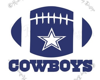 Football Dallas Cowboys SVG and DXF