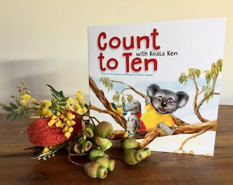 Count to Ten with Koala Ken - Children's Book