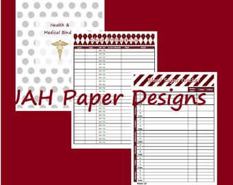 Health and Medical Printables
