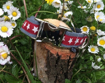 Dog collar 'Red Star'