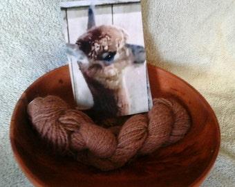 """100% Alpaca """"Lanera"""" Hand Spun Yarn"""