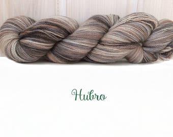 "Merino-Silk Lace Yarn ""Hubro"", Hand-dyed"