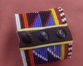 Beaded bracelet, Handmade bracelet, African bracelet, maasai  bracelet, Maasai jewelry,Maasai wristband, African wristband, Kenya handmade
