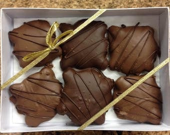 Jumbo turtles, Turtles, Caramel, Pecans, Chocolates, Hand-dipped