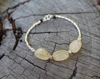 CITRINE DREAMS BRACELET - Karen Hill Tribe Silver - Citrine Beads
