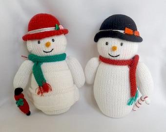 Mr and Mrs Snowmens christmas snowman christmas decoration cristmas gift