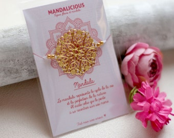 Bracelet lucky Mandala bracelet friendship luck symbol protection evil eye Bohemia