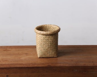 Thai handmade basket #made from 100% Natural material #Vintage Wicker