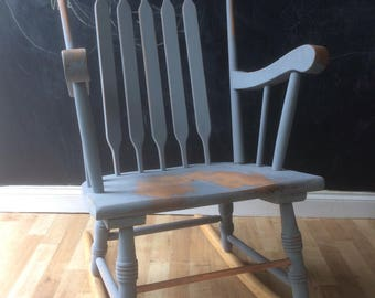 Rocking chair, rocker, shabby chic