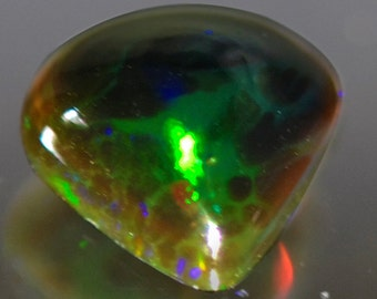 0.87 Ctw Best Selling All Time Natural Black Opal From Ethiopia