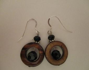 Shell Earrings, Drop Earrings, Natural Elements Jewelry