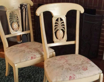 Items Similar To Vintage Ethan Allen French Country Dining