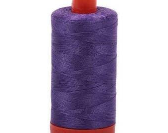 Aurifil Mako Cotton Thread Solid 50wt 1422yds Dusty Lavender