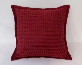 "Red Ram Cushion 18"""