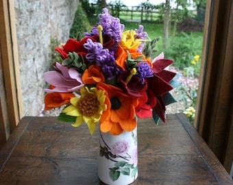 Felt Wildflower Bouquet