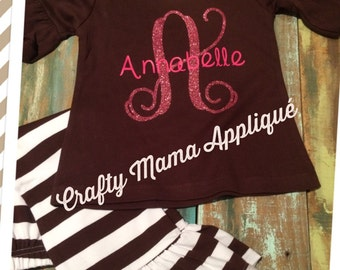 Girls Ruffle outfit