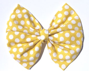 Yellow Dot Kaya Bow