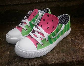 Watermelon style sneakers