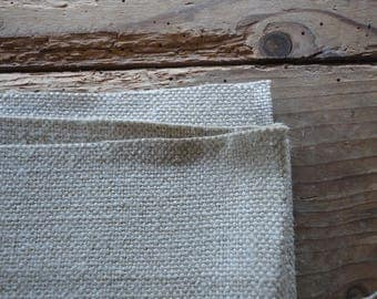 natural HEMP in three different qualities, twill (423 g), heavy canvas (557 g) or softened (380 g) _ fabric by yard