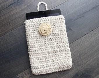 iPad Case, iPad Sleeve, iPad Cover, Tablet, iPad, iPad Air, iPad Air Case, Tablet Case, Tablet Cover, Tablet Holder, Rose, Natural, Beige,
