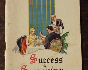 Vintage 1932 Lea & Perrins recipe booklet
